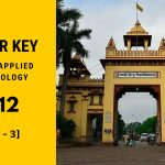 Answer Key of BHU PET Applied Microbiology 2012