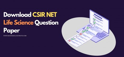 Download CSIR NET Life Science Question Paper